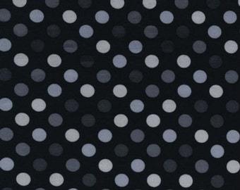 Robert Kaufman - Spot On Polka Dots EZC-12872-188 in Pepper