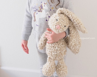 Classic Stuffed Bunny Crochet Pattern for Easter
