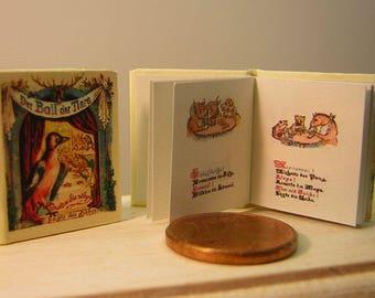 Der Ball der Tiere miniature book 1/12