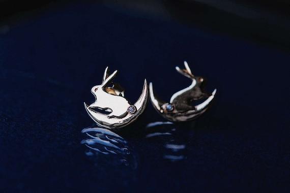 moon-bunny-earrings by etsy