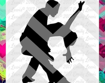 silhouette of couple dancing - dancer silhouette - dance svg files - dance dxf files - dance dxf - dance cut files - dancing svgs - dancing