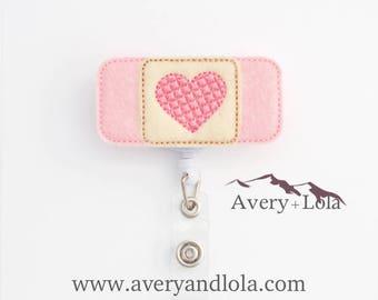 Bandage Badge Reel, Medic ID Holder, Bandage ID Holder, ID Badge Holder, Teacher Gift, Nurse Gift