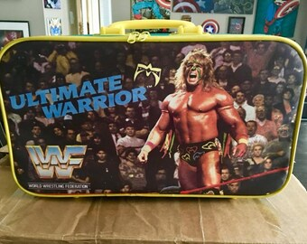 WWF 1990's  Ultimate Warrior Child's Suitcase brand new