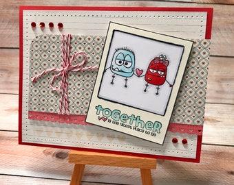 Handmade Greeting Card - Love Note