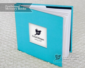 Baby Memory Book - Electric Blue