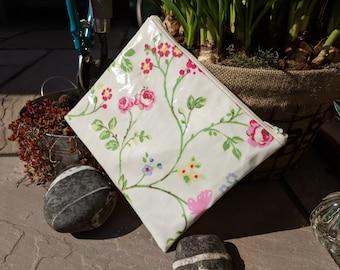 Oilcloth pouch