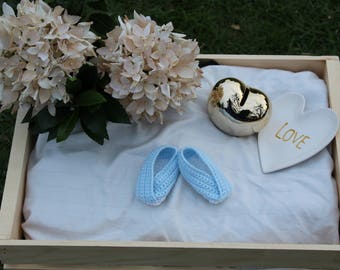 Baby Booties, Crib Shoes, Newborn Booties, Baby Shoes, Baby Crochet Shoes