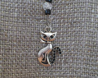 Adorable CHARMED Kitty charm necklace. Stunning!