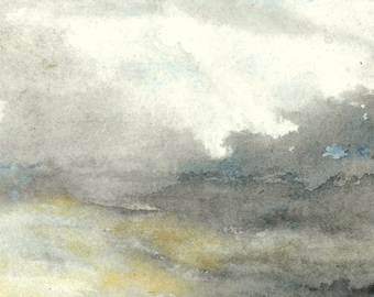 Stormy weather (pictorical exercise)