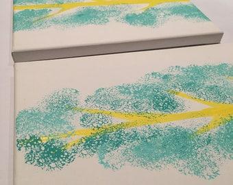 Custom Tree Painting (set of 3)
