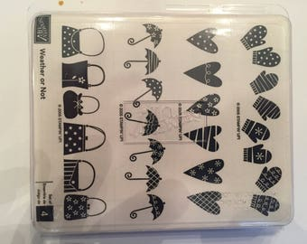 Weather or Not Stampin Up! Stamp Set
