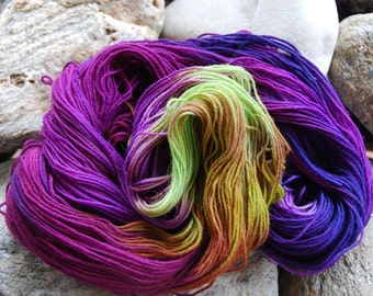 handdyed Yarn, 100g/ 3,5oz , colour 39c