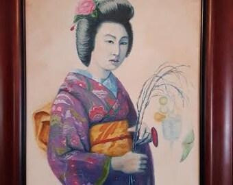Springtime Geisha