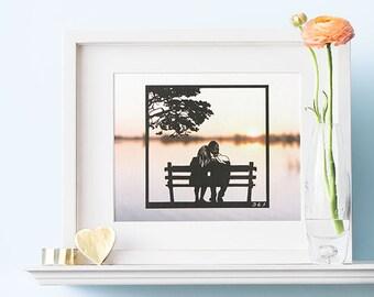 1st Wedding Anniversary Gift, 1st Anniversary Gift Ideas, First Year Anniversary Gift, 1 Yr Anniversary Gift,  1 Year Anniversary Gift