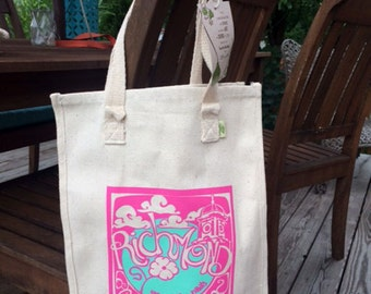 Richmond Grow Your Own Roots Tote - Pink