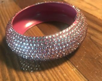 Funky pink bracelet