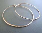 Gold Hoops - xlarge hoop ...
