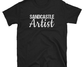 Sandcastle Clipart | Sandcastle Birthday | Sandcastle Artist Shirt