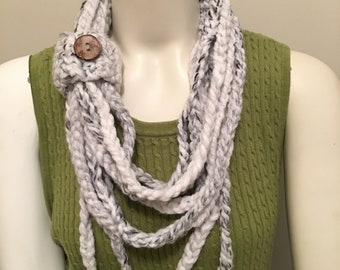 Crochet Rope Scarf