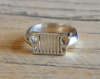 CJ Jeep grill ring