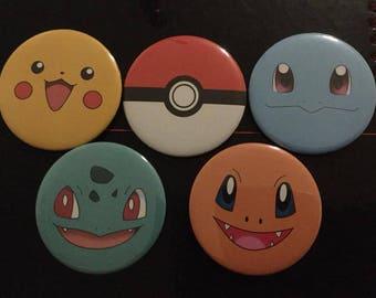 Pokemon Badges