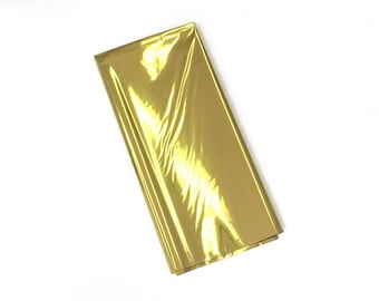 Gold Metallic Foil - Craft and Party Supplies