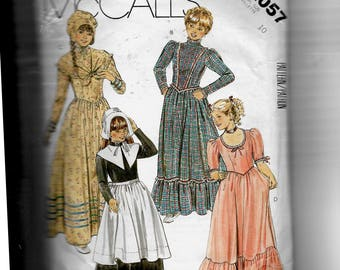 McCall's  Girls' Costumes Pattern 2057