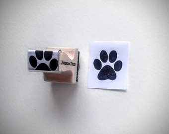 "Stamp - Paw Print, 1""x1"""