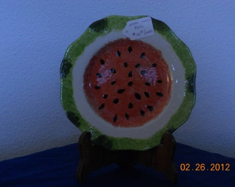 Watermelon Plates (serving bowl available also)