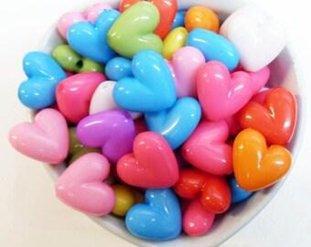 25 x bombé en forme de perles en niçoise 18mm