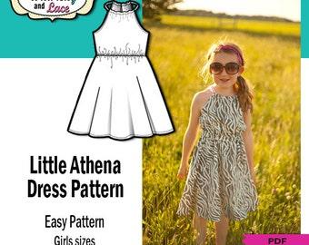 ATHENA DRESS PATTERN for kids