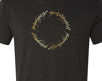Lord of the Rings Shirt The One Ring