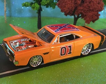 Dukes Of Hazzard, General Lee, 1969 Dodge Charger R/T, 1/64 Scale, #0760