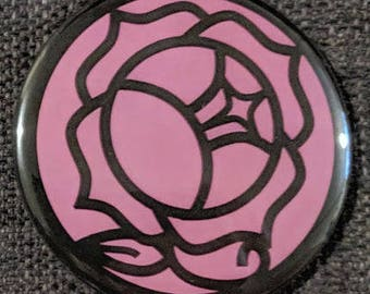 Rose Signet Button
