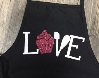 Cupcake love apron