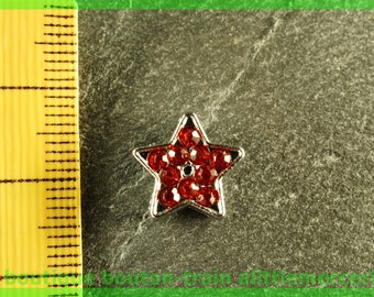 busy star N1 full rhinestone Bracelet Bead