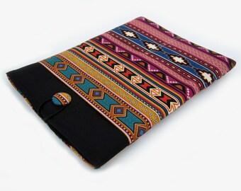 Macbook Air Sleeve, Macbook Air Cover, 11 inch Macbook Air Case, 11 Inch Macbook Air Cover, Laptop Sleeve, Tribal Stripes