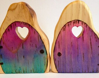 Waldorf Wooden Toy, Folkwood Enchanted Fairy Door