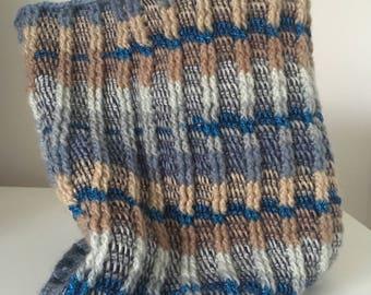 Cosy Tunisian Crochet Cowl