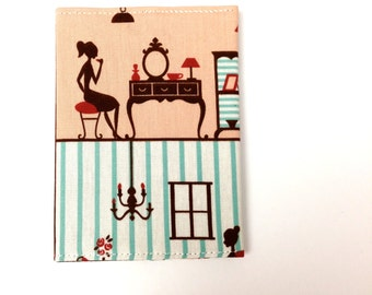 Personalized Passport Cover, Passport Sleeve, Gift Idea, Travel Case, Dressing Up Pretty