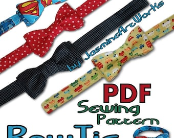 Bow Tie DIY PDF Sewing Pattern