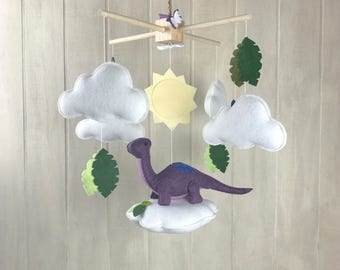 Baby mobile - dinosaur mobile - cloud mobile - butterfly mobile - leaf mobile - leaves