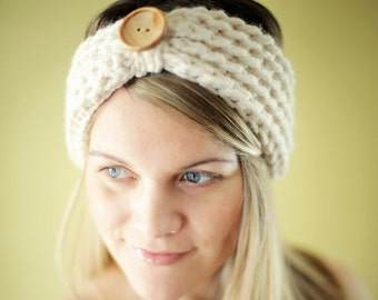 CROCHET PATTERN Chunky Headband Beginner The Baltimore 3 SIZES Adult Child Toddler