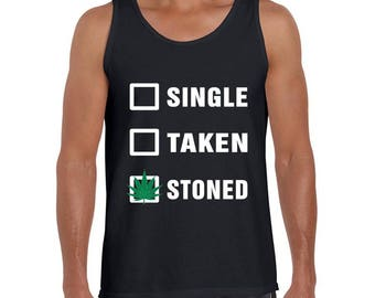 Single Taken Stoned Tank tops and Tshirts
