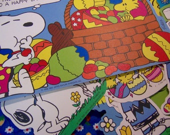 adorable snoopy and friends cutouts