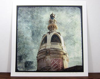 READ Tower - Nantes - digital photo 30 x 30 cm - signed and numbered