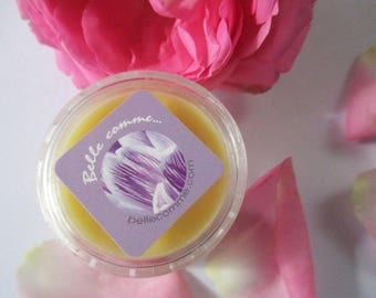 Pot of roses, Rose, Camellia care restful, protective and moisturizing lip balm