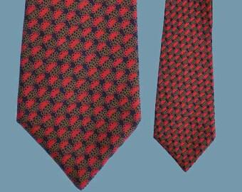 Vintage 70s Wide Silk Tie Simpson England