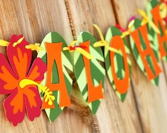 Aloha Luau Banner