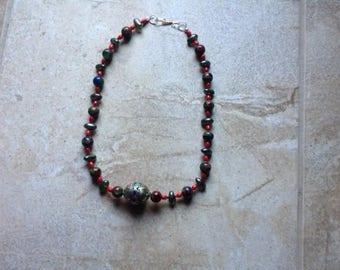 Quart in Bronze Necklace